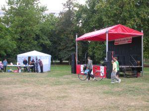 Interkulturelle Woche in Dessau Stadtpark